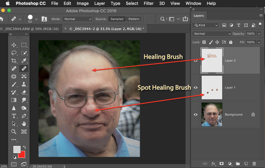 Photoshop For Photographers, a Continuing Ed class at Clark