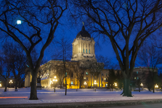 Legislative Building in Winnipeg